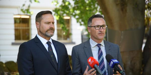 Richard Di Natale and Peter Whish-Wilson
